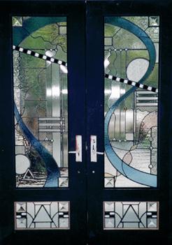 Stained Glass Door Designs