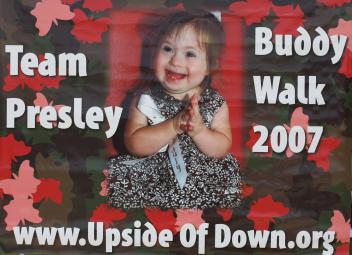 '07 Buddy Walk Banner