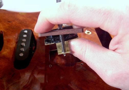 Les Paul Pickup Ring Installation
