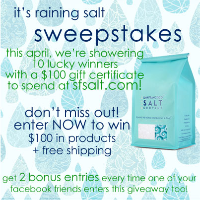 april sweepstakes