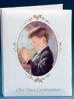Boys First Communion Photo Album