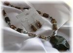 Fancy Jasper Gemstone Necklace
