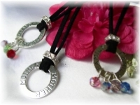Birthstone Affirmation Necklace