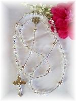 Swarovski Crystal Personalized Name Rosary