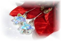 Swarovski Crystal Snowflake Pendant