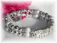 Mother Bracelet Silver Stardust