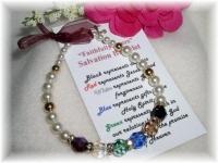 Salvation Bracelet Pearls