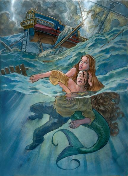 ariel becomes a sea - photo #27