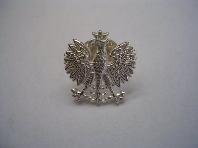 Bickertonjewellery 7 rgt rlc polish eagle our 7 regiment rlc polish eagle lapel stud measures 15mm x 16mm and weighs 2g in sterling silver 22g in 9ct gold mozeypictures Images