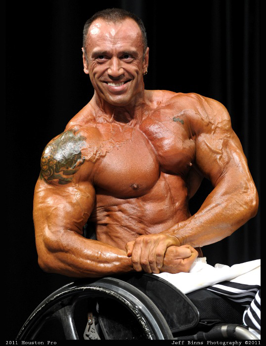 Gold's Gym Fresno North http://www.wheelchair-bodybuilding.com/ludovic_marchand