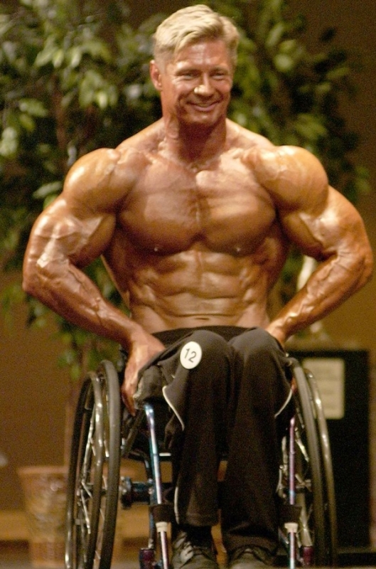 Wheelchair Bodybuilding Victor Konovalov