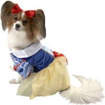 Dog boutique snow white dog costume