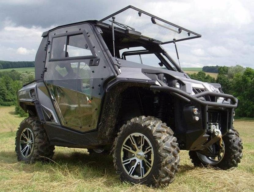Utv Headquarters Can Am Commander Hard Cab Enclosure