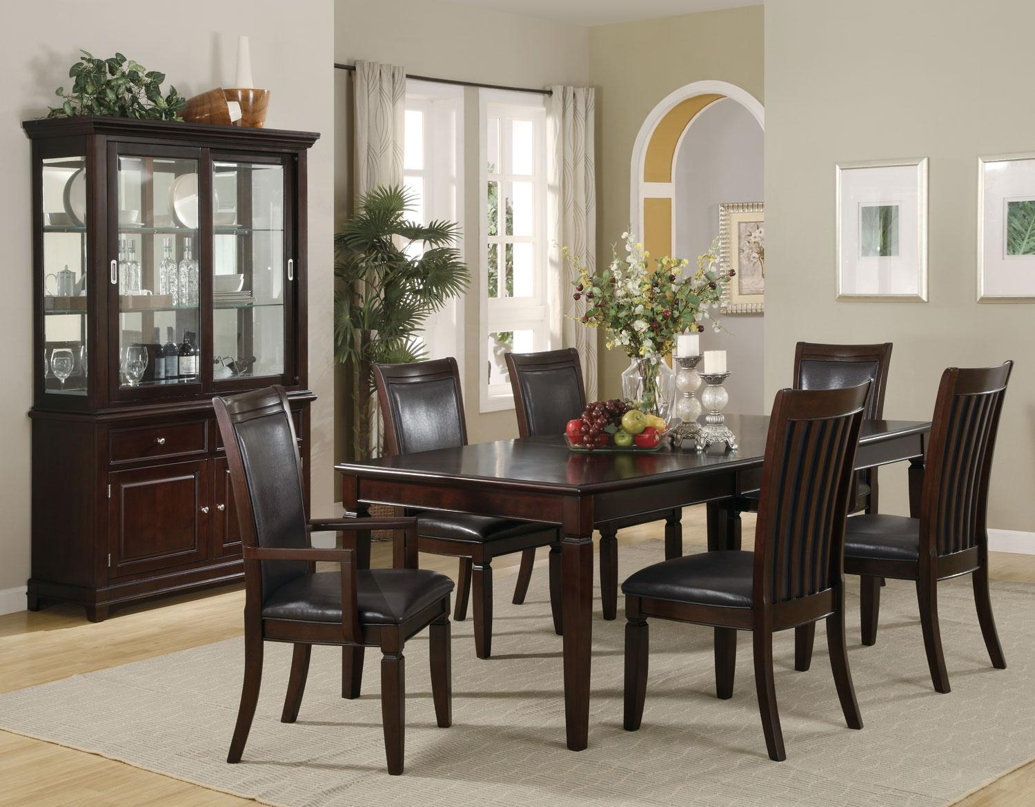 Walnut Dining Room Table   Formal Dining Sets   Quality Dining Room Table  And Chairs