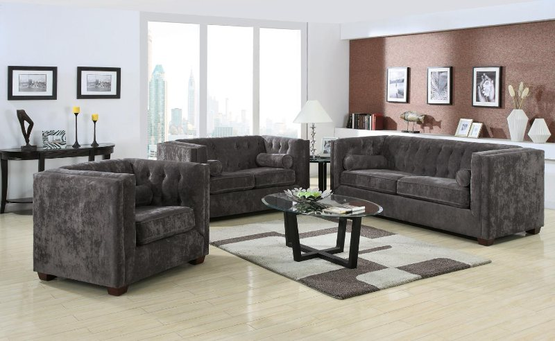 Microvelvet Sofas   High Arm Sofa And Chairs   Living Room Furniture On  Sale   Discount