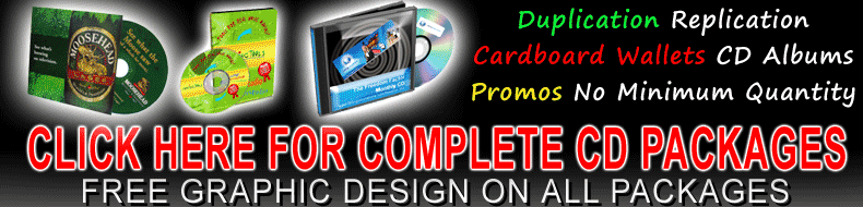 CD Duplication Packages