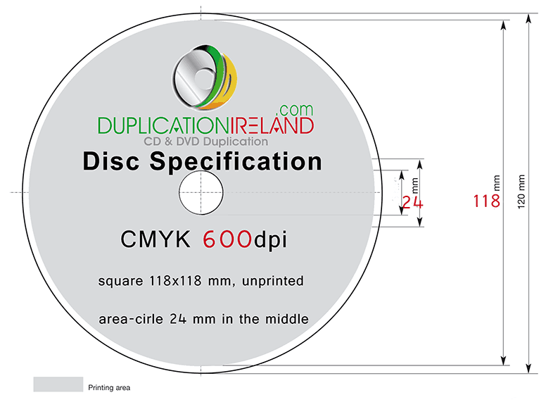 cd spine template - cd dvd duplication ireland graphic design